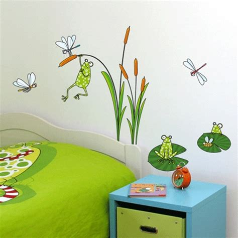 kid wall stickers froggies nursery wall decals by couture d 233 co