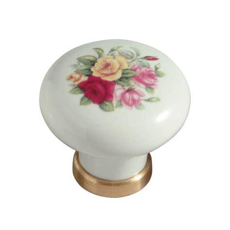 Pomelli Di Ceramica Pomello In Ceramica 248 31 Con Roselline