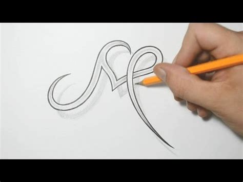 tattoo letters m letter m and heart combined tattoo design ideas for