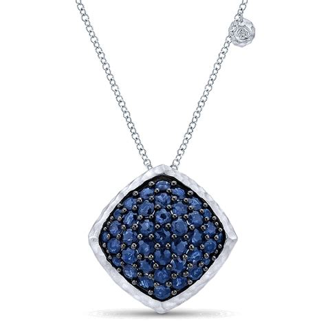 gabriel co jewelry sterling silver and sapphire
