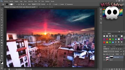 tutorial photoshop cs5 fusionar imagenes fusionar imagenes montaje tutorial comentada photoshop