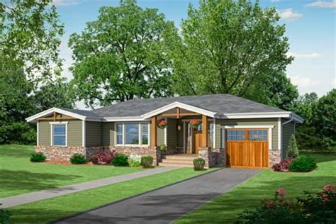 photoshop redo craftsman makeover for a no frills ranch garage doors craftsman and ranch