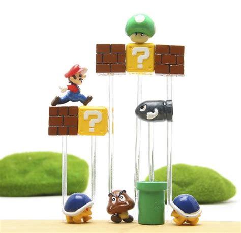 Mario Brothers Aquarium Decorations by Mario