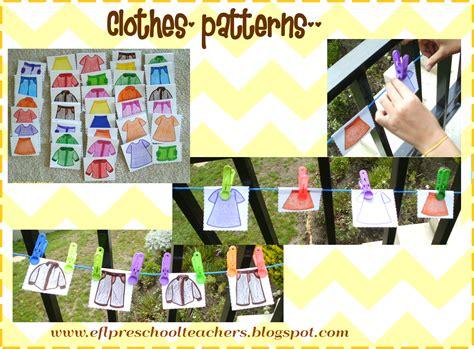 themes clothing esl efl preschool teachers clothes theme for preschool ell