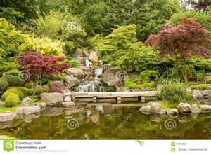 paysage japonais de jardin jardins de kyoto photo stock