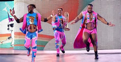 s day new 2016 new day defending tag team titles on tomorrow