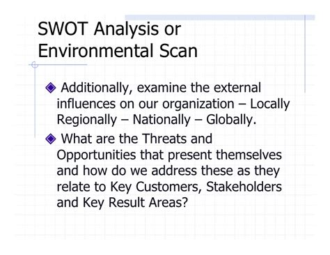 environmental scan template 24 template 4strategic planning outline