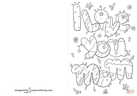 i loved you for days card template i you card coloring page free printable