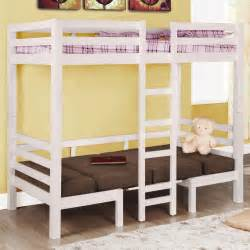 Loft And Bunk Beds Convertible Loft Bed In White Best Furniture Loft Beds Bunk Beds And Etc