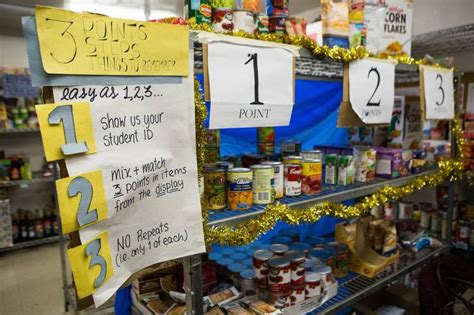 Pantry Launch by Colleges Launch Food Pantries To Help Low Income Students