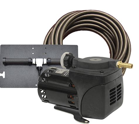 self sinking aeration tubing pa10w pond aeration system 1 20 hp kit with quick