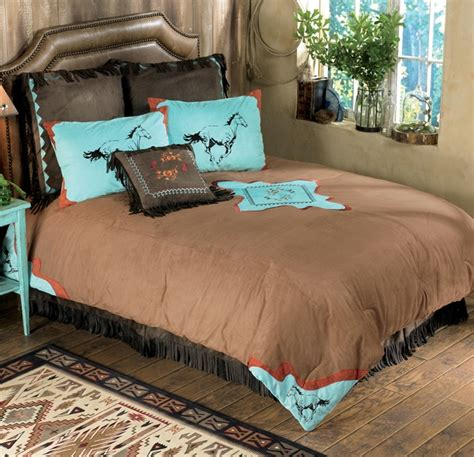 horse bedrooms spirit horse bedding collection bedroom pinterest colors bedding and turquoise