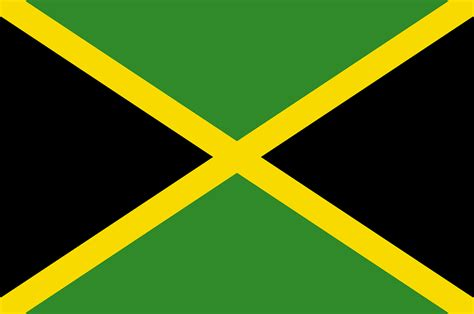 jamaica flag national 183 free vector graphic on pixabay