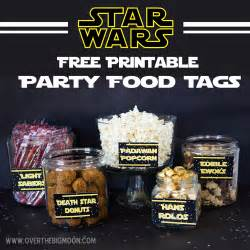 Sewing Home Decor may the 4th be with you star wars food free printables