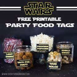 4th star wars food free printables big moon