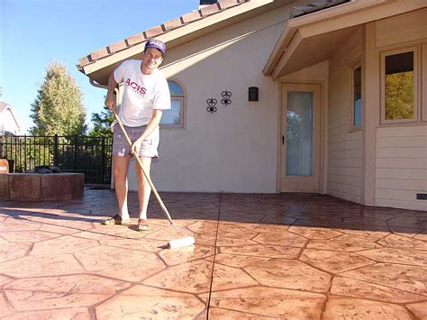 How To Seal Concrete Patio by Sted Concrete Sealing Wow