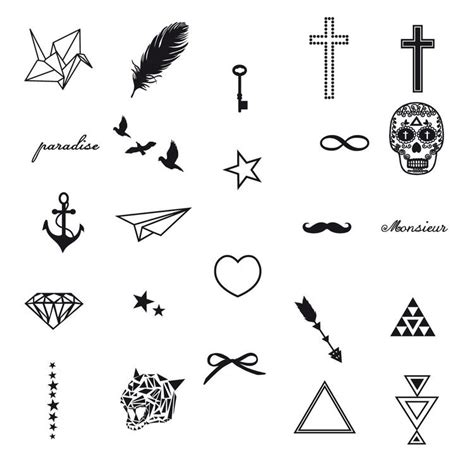 simple tattoo symbols and their meanings heart or stars on wrist tattoos pinterest tigers