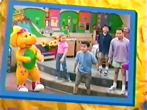barney five kinds of credits pbs barney friends seven days a week ending credits