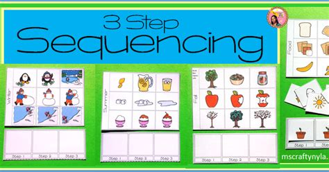 picture books to teach sequencing nyla s crafty teaching sequence cards