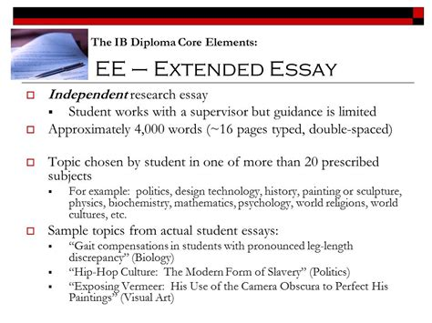 history extended essay exle history extended essay