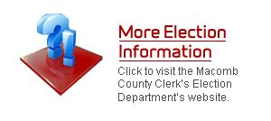 Macomb County Clerk S Office by Macomb Co Election Results