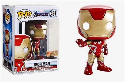 funko pop marvel avengers endgame iron man vinyl bobble