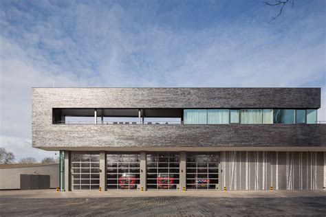 Garage Designs Fire Station Doetinchem Bekkering Adams Architects