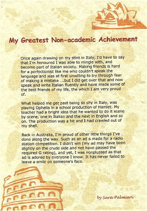 Academic Achievement Essay by Free Essays On Non Academic Verypdf Web Fc2