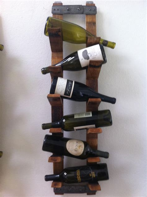 Wall Mount Wine Rack by Wall Mount Wine Rack By Fallenoakdesigns On Etsy