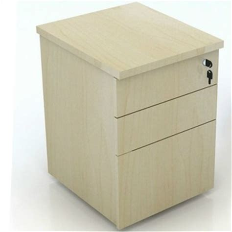 office wooden 3 drawers file cabinet with lock file