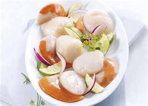 cuisiner les coquilles st jacques surgel馥s noix de st jacques 20 224 41 pi 232 ces surgel 233 gamme