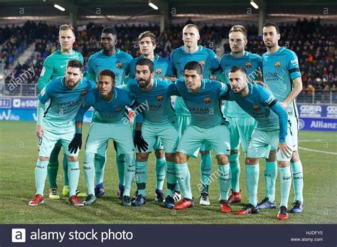 barcelona line up barcelona team group line up barcelona january 22 2017