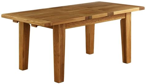 Dining Table Vancouver Buy Vancouver Oak Dining Table Extending 140cm 180cm Cfs Uk