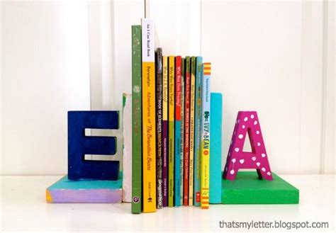 These Bookends Are Great You Could Use Them For A Kids Bookends For Rooms