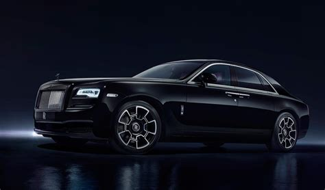 roll royce black 2018 rolls royce ghost black badge price review specs