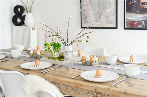 Tischdeko Ostern by Tischdeko Zu Ostern G 220 Nstig Minimalistisch