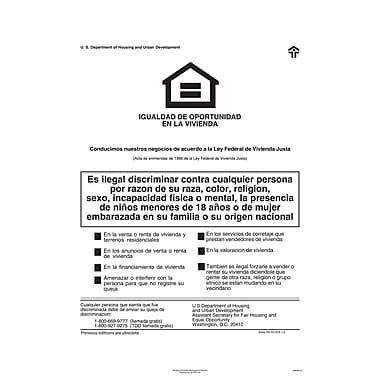 printable equal employment opportunity poster complyright federal fair hud equal housing opportunity