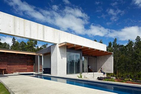 new house in sand point cast architecture cast in place concrete house in hawaii
