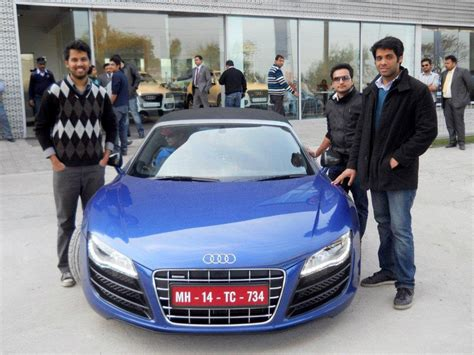 audi r8 on road price in delhi audi r drive by audi india started in new delhi