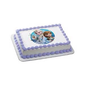disney frozen quarter sheet edible cake topper each