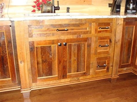 reclaimed wood kitchen cabinets barnwood kitchen cabinets kitchen contemporary with