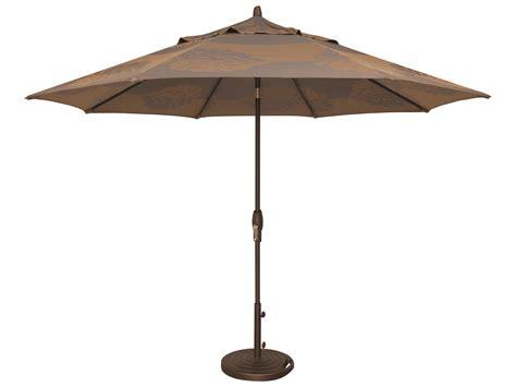 Treasure Garden Patio Umbrellas Treasure Garden Market Aluminum 11 Octagon Auto Tilt Crank Lift Umbrella Um812