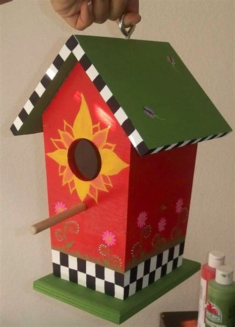 bird houses painting ideas woodworking projects plans