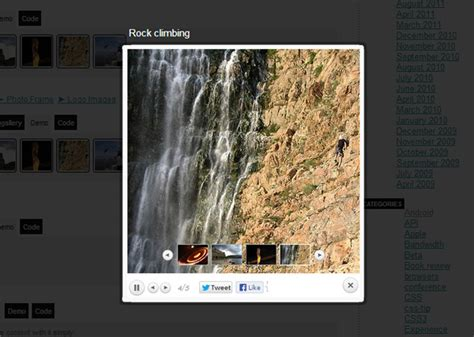 best jquery gallery free best jquery image gallery plugin for your website