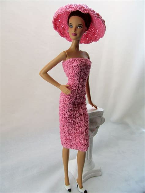 pattern for barbie doll jeans 253 best crochet barbie doll clothes images on pinterest