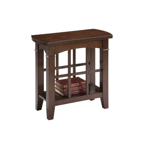 ore international table l ore international brown end table 7155 the home depot