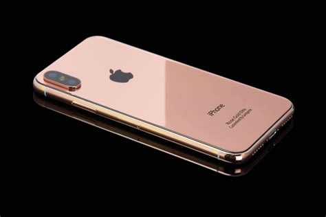 gold iphone xs max elite   gold rose gold