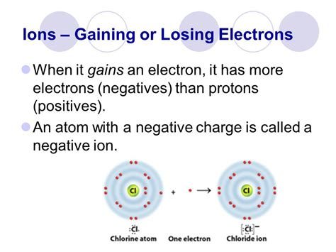 Protons And Electrons In Ions by 4 3 Notes Elements Isotopes Ions Ppt