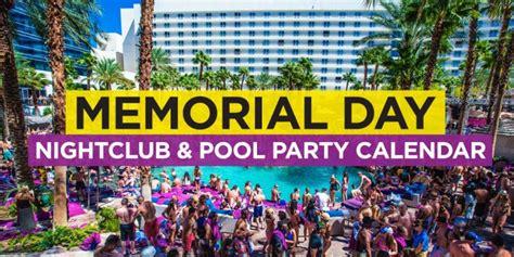 Las Vegas Event Calendar Las Vegas Memorial Day Weekend 2018 Edm Event Calendar