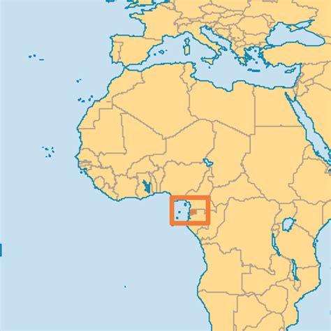 guinea ecuatorial map guinea ecuatorial map